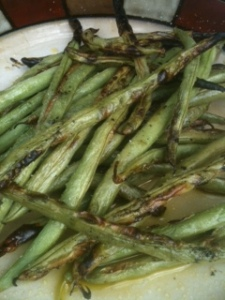 roasted green beans blog