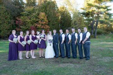 Jenny wedding party