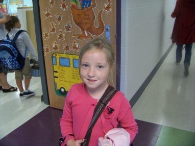 anna's classroom door