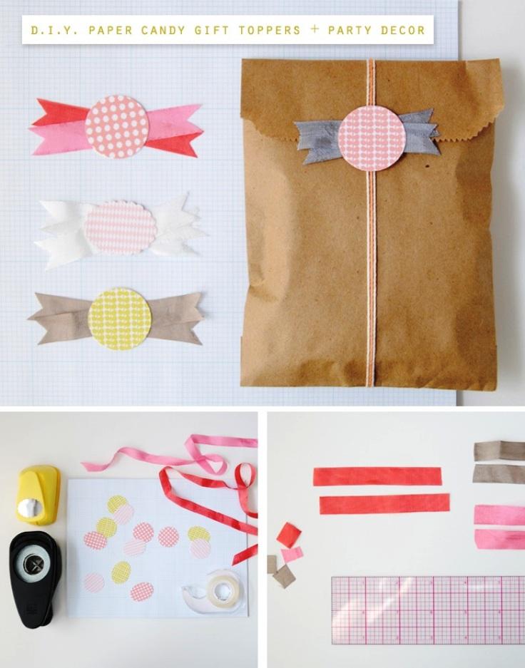 brown paper wrap