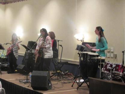 Ladies retreat band
