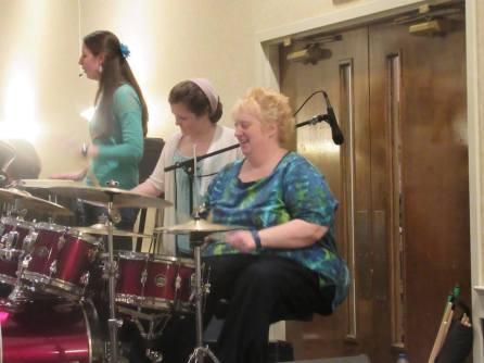 LCN ladies retreat KB drums